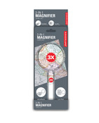 Kikkerland 2-IN-1 Magnifier Loupe