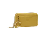 Tusk Madison Womens Small Zippered Card / Coin Case Wallet