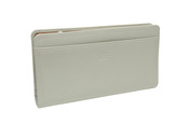Tusk Madison Womens Leather Snap Clutch Wallet