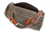 Bosca Correspondent Expedition Canvas Duffel Bag