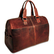 "Jack Georges Voyager Leather 18"" Carry On Cabin Bag"