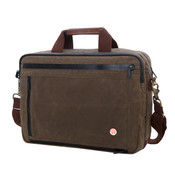 "Token Waxed Canvas Montrose 13"" Laptop Briefcase"