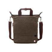 "Token Waxed Canvas Fordham Convertible 15"" Laptop Briefbag / Backpack"