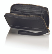 Hartmann Belting Collection Womens Wrislet Compact Leather Wallet