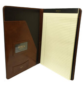 Bosca Old Leather 8 1/2 x 14 Legal Size Writing Pad Cover