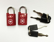 Victorinox Lifestyle Accessories 4.0 Travel Sentry® Approved  Key Lock Set (2 locks)