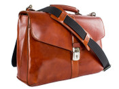 Bosca Old Leather Flapover Briefbag
