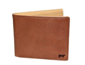 Will Leather Goods Barnard Mens Billfold Leather Wallet