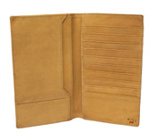 Will Leather Goods Horace Secretary Breast Pocket Mens Leather Wallet