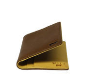 Will Leather Goods Clyde Mens Front Pocket I.D. Credit Card Case
