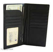 Osgoode Marley RFID Secretary Mens Coat Pocket Leather Wallet
