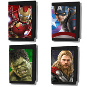 Marvel Avengers Age of Ultron Lenticular 3D Velcro Wallet Various Characters