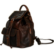 Jack Georges Voyager Drawstring Buffalo Leather Backpack