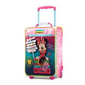 """American Tourister Disney Minnie Kids 18"""" Rolling Carry On Luggage"""