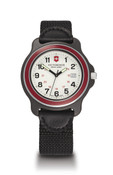 Victorinox Swiss Army Watch Original XL White Dial / Red Bezel / Black Nylon Strap