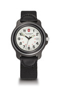 Victorinox Swiss Army Watch Original XL White Dial / Black Bezel / Black Nylon Strap