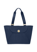 "Baggallini Alberta Womens 15"" Laptop Tote Bag w/ Gold Hardware"