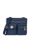 Baggallini Sydney Bagg Womens Shoulder Bag w/ Gold Hardware