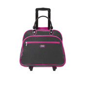 """Baggallini 17"""" Carry On Rolling Tote Business Case"""