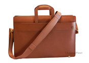 Hartmann Heritage Leather Slim Brief Computer Bag