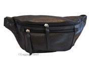 iLi Leather Travel Waist Pouch Fanny Pack