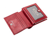 Bosca Old Leather Petite French Purse Womens Leather Wallet