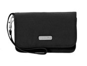 Baggallini RFID Blocking Flap Wristlet Womens Wallet