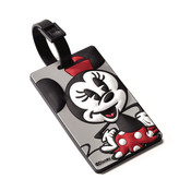 American Tourister Disney ID Luggage Tag Minnie Mickey Mouse