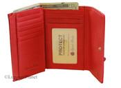 Osgoode Marley RFID Blocking Womens Leather Flap Wallet