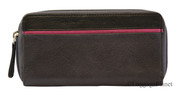 Osgoode Marley RFID Zip Around Womens Leather Wallet
