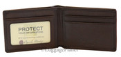 Osgoode Marley RFID Blocking Ultra Mini Mens Leather ID Wallet