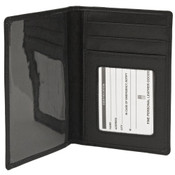 iLi Leather RFID Blocking Passport Cover Wallet