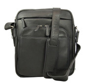 Osgoode Marley Christopher Crossbody Leather Mens Bag - Black