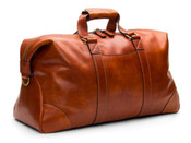 "Bosca Dolce Leather 19"" Carry On Travel Duffle Bag"