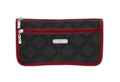 Baggallini Large Wedge Womens Cosmetic Make up Case