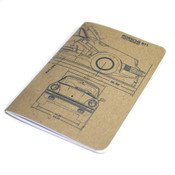 Owen & Fred Porsche 911 Essential Notebook
