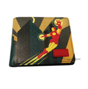 Marvel Comics Iron Man Vinyl Bifold ID Wallet