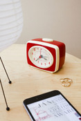 Kikkerland Classic Small Travel Alarm Clock