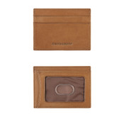 Johnston & Murphy Italian Leather Weekender Case RFID Mens Wallet - Tan