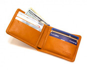 Made in Mayhem Lincoln Mens Leather Bifold Wallet - Made in USA