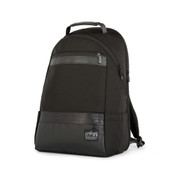 "Manhattan Portage Park Slope Daypack 13"" Laptop Backpack - Black"