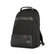 """Manhattan Portage Park Slope Daypack 13"""" Laptop Backpack - Black"""