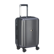 "Delsey Pluggage Smart Luggage 19"" International Spinner Carry-on Black"
