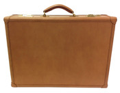 "Hartmann J Reserve Belting Leather 4.75"" Attache Fan File Made USA"