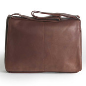 Osgoode Marley Cashmere Mens Leather Messenger Bag