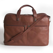 Osgoode Marley Cashmere Mens Leather Multi-Pocket Laptop Brief
