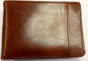 Bosca Old Leather Bifold Front Pocket Wallet with Money Clip
