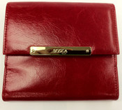 "Bosca Malibu Collection 4"" Womens Attache Leather Wallet"