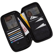 Go Travel RFID Blocking Travel Document Organizer 18 compartment Travel Wallet