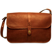 Jack Georges Belmont Collection Messenger Bag - Made in USA